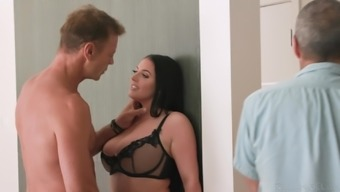 MILF Angela White gets brutally fucked by hung stud