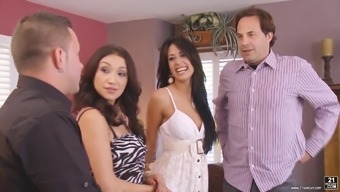 Fabulous association sex with the use of sexy Vicki Chase and her twisted acquaintances