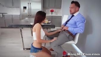 naughty female offspring shavelle completely love fucks her stepdad early morning