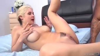 sarah vandella consists of a break along with a fellow's erected dong