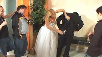 Tranny bride to be intercourse after marriage event
