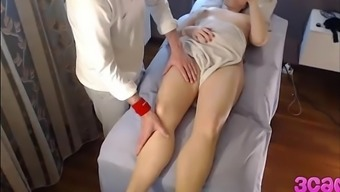 Hidden Cam at Massage Parlour Rectum Spin