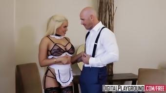 DigitalPlayground - Maid Help with Johnny Social deviance Luna Stars