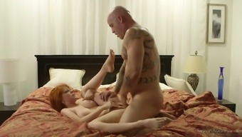Sex-hungry dry scalp Currency Pax gets her pussy licked and fucked