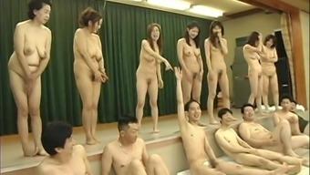 Japanese Milfs wild urinate party