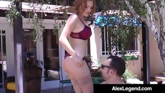 Hot Real estate professional Krissy Lynn Fucks French language Alex History To Get Trade