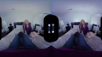 BaDoink VR Hooked by My Busty New Stepmom Christie Stevens POV Intense