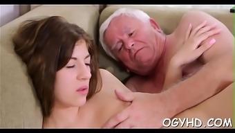 Old malicious man fucks youth hollow