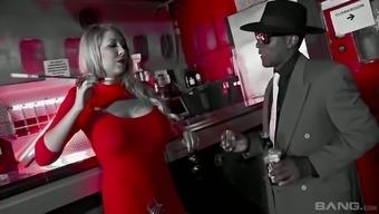 Kinky BBC fucks amazing bootyful and big bottomed chick Lexi Lowe