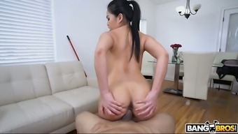 Sexy willowy toddler Cindy Starfall is very into starting on tough penis