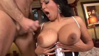 Something Kiara Mia likes possibly the most is riding a bad fats dick