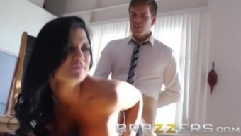 BRAZZERS - Slutty teacher Jasmine Jae fucks her student