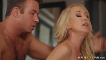 Brandi Love & Chad White in Mom Fucked The Masseur - BRAZZERS
