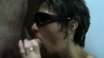 Hungarian girl sucking and don't like the sperm