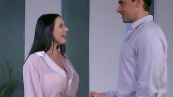 Angela White Oils Up for Hot Nuru Fuck with Friend -NuruMassage