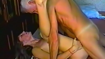 Grandpa gets himself a few natural young pussy to actually fuck