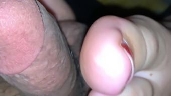 Gf sexy arced feet footjob paki