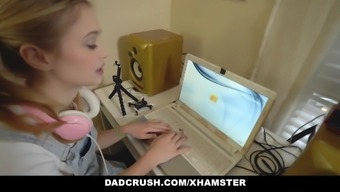 DadCrush - Step Daughter And Her Besties Fucked Pervy Dad