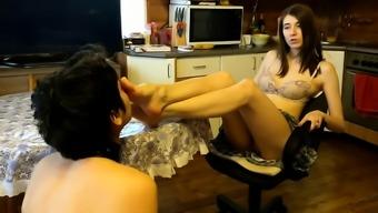 Foot mania femdom loving domina