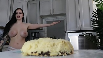 Topless Baking with Cubbi! Episode 1: Giant Cookie Cake