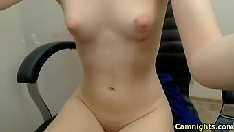 horny ukraine having fun masturbating on webcam live