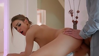 Bombshell Alexis Crystal orchestrates the sexiest romantic fuck