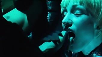 Ian Tate & Danny D & Sofia Valentine & Robyn Truelove in Sexy Chauffeur Fucks her Passengers - KINK