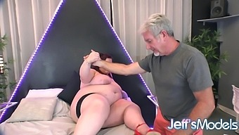 Massive Bellied Plumper Ashley Garland Is Ready for a Real Cock