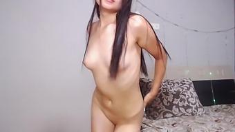 Flexible asian girl naked