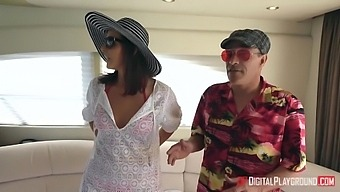 Charles Dera In Cheating Slut Gets Facefucked Behind Hubbys Back