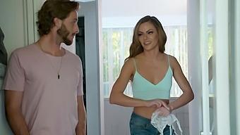 Fit girlfriend's friend Aila Donovan enjoys having hardcore sex
