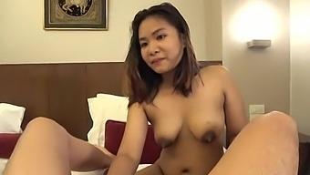 Asian cumwhore craves big American dicks