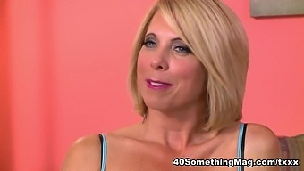 Jenny Gets Her Tits Out For The 40Something Interview - Jenny Mason - 40SomethingMag
