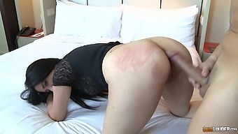 Hardcore fucking on the sofa with a cock hungry amateur chick