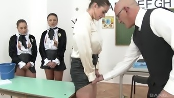 clothed divas within the more school like cathy heaven, aida cute, aysha rouge