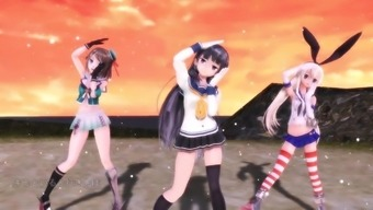 MMD NEE without the need for panties