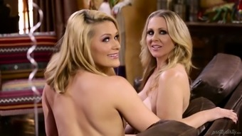 Johnny Hall fucks Abby Mix and her unclean lesbian girlfriend