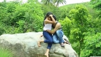 Indian date making out with the close friend in hidden jungles of the planet before marage - teen99 - i