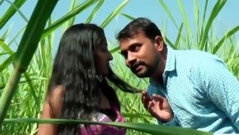 Desi indian love romancing within the backyard hidden jungles of the planet - teen99 - indian short movie