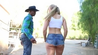 Sit back and watch how cute blonde got profound fuck by maximum lover. This lady really adores it.