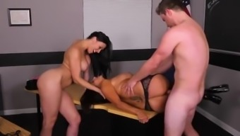 Horrific In-law Avesys Addams And Rachel Starr Teacher In Threesome