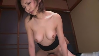 This lovely Japanese people damsel is a love-making machinery and she's got a pleasant fuzzy pussy
