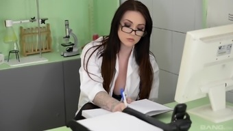 Harmony Reigns is basically a health professional in fine panties wanting to really fuck