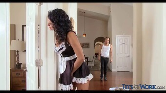Perverted Maid gets Dick practical