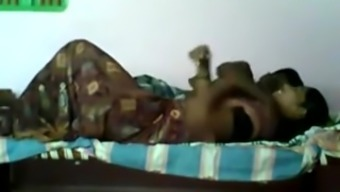 Tamil Aunty sexual intercourse along with owner