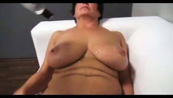 Gorgeous ma oils up and fucks Jane from dates25com