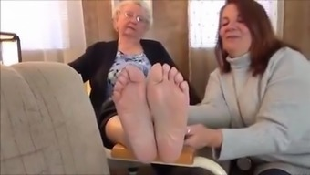 Granny's Feet Feet - 86 Yrs of age