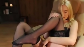 Young adult hottie Abby Rapture fucks her friend's sister - Naughty Usa
