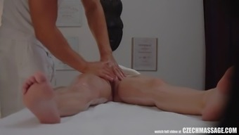 busty nasty person persuaded her masseur to really complicated intercourse