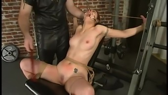 Obliged Carly gets gagged then toyed in BDSM video files